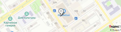 Банкомат, Банк Уралсиб, ПАО на карте Ишимбая
