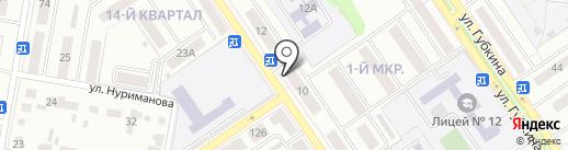 Ягодка на карте Ишимбая