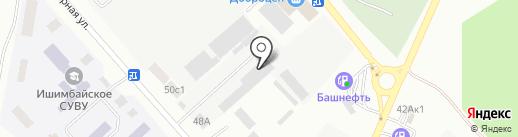РеМарк на карте Ишимбая