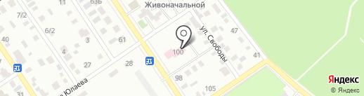 Ишимбайская центральная районная больница на карте Ишимбая