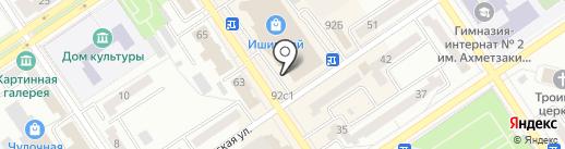 Чебаркульская птица на карте Ишимбая