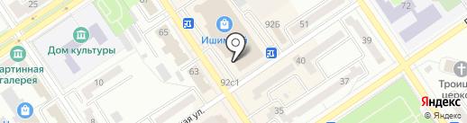 Магазин кондитерских изделий на карте Ишимбая