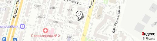 Наш хлеб и кулинария на карте Уфы