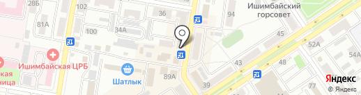 Сюрприз на карте Ишимбая