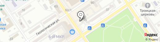 Эталон на карте Ишимбая