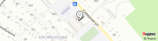 Почтовое отделение №14 на карте Ишимбая