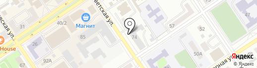 Банкомат, АБ Россия на карте Ишимбая