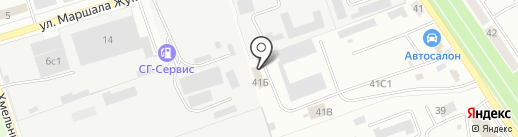 Баштранссигнал на карте Ишимбая