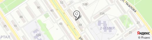 Торгово-монтажная компания на карте Ишимбая