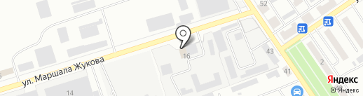 Межрайкоммунводоканал, МУП на карте Ишимбая