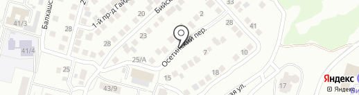 Амаль на карте Уфы