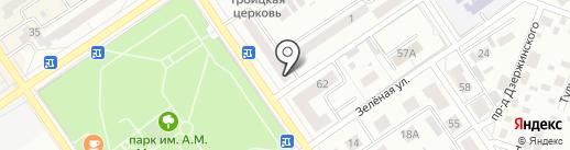 Нотариус Ризванова А.Р. на карте Ишимбая
