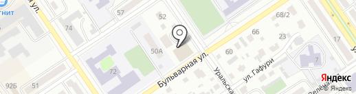 Хозмастер на карте Ишимбая