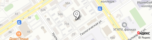 ЖЭУ-2 на карте Ишимбая