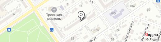 Отдел Управления Федеральной службы государственной регистрации, кадастра и картографии по Республике Башкортостан, по Ишимбайскому району на карте Ишимбая