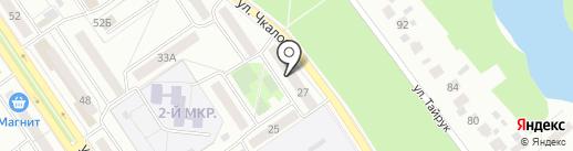 СЭМС на карте Ишимбая