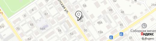 Башкирский регистр социальных карт на карте Ишимбая