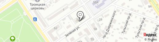 Центр занятости населения Ишимбайского района, ГКУ на карте Ишимбая