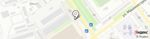 Ишимбайская фабрика трикотажных изделий, ЗАО на карте Ишимбая