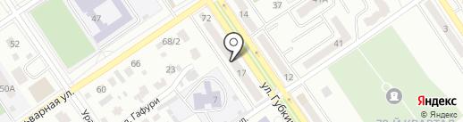 Ксения на карте Ишимбая