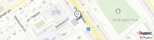 Табип на карте Ишимбая
