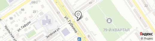 Нефтестрой, АНО на карте Ишимбая