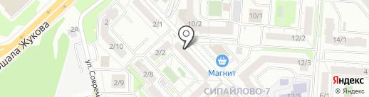 Разливной бочонок на карте Уфы