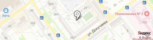 ЖЭУ-5 на карте Ишимбая