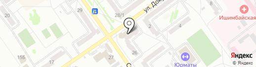 Банкомат, КБ Кольцо Урала на карте Ишимбая