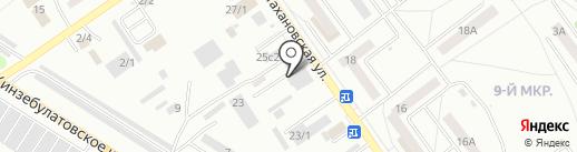 i-Талия на карте Ишимбая