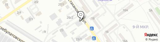 Русский фейерверк на карте Ишимбая