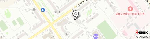Драйв на карте Ишимбая