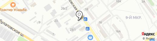 Автостоянка на карте Ишимбая