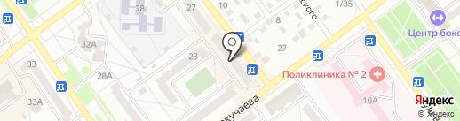 Идеал Дент на карте Ишимбая