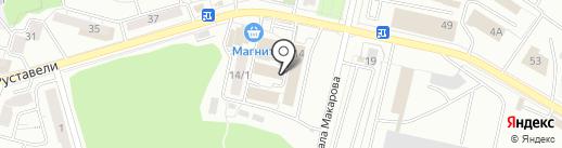 Артимида на карте Уфы