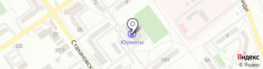 ДЮСШ №3 муниципальный района Ишимбайский район РБ, МАУ на карте Ишимбая