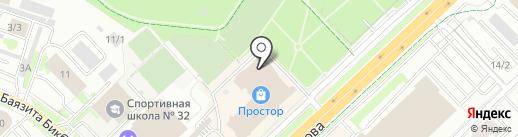 RossTour на карте Уфы