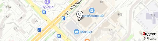 Банкомат, Татфондбанк, ПАО на карте Уфы