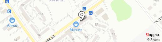 Мясной магазин на карте Ишимбая