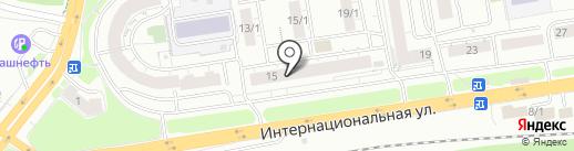 ЛаFF на карте Уфы