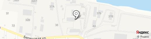 Металлист на карте Берега Камы