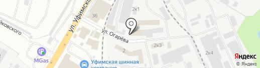 Телкон на карте Уфы