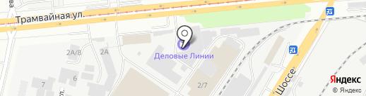 ДжойБорд на карте Уфы