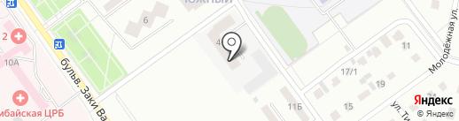 Строящиеся объекты на карте Ишимбая