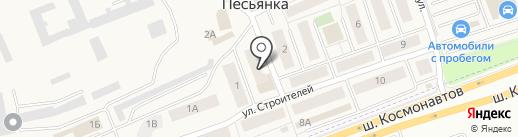 Цех полуфабрикатов на карте Песьянки