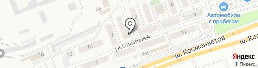 Банкомат, Западно-Уральский банк на карте Песьянки