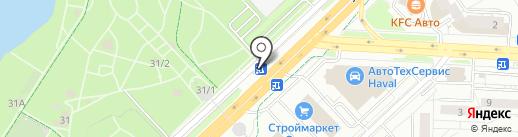 Батищева Л.И. на карте Уфы