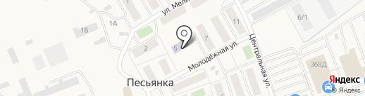 Солнышко на карте Песьянки
