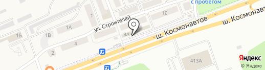 ГЕО-комплекс на карте Песьянки