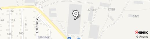 ЭМ-транс на карте Берега Камы